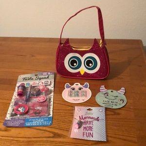 Owl accessories lot